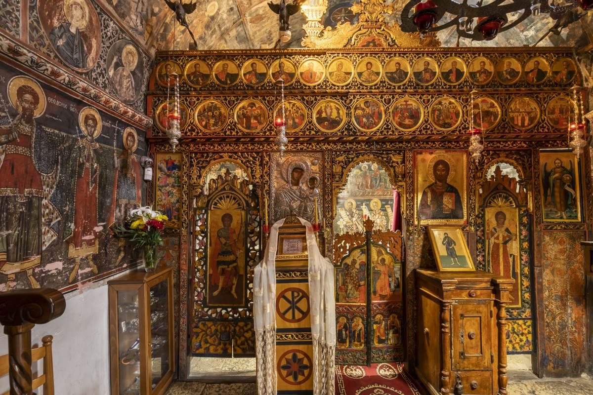 Το ιερό, Ι.Μ. Παναγίας Πελεκητής ή Παναγία των Βράχων