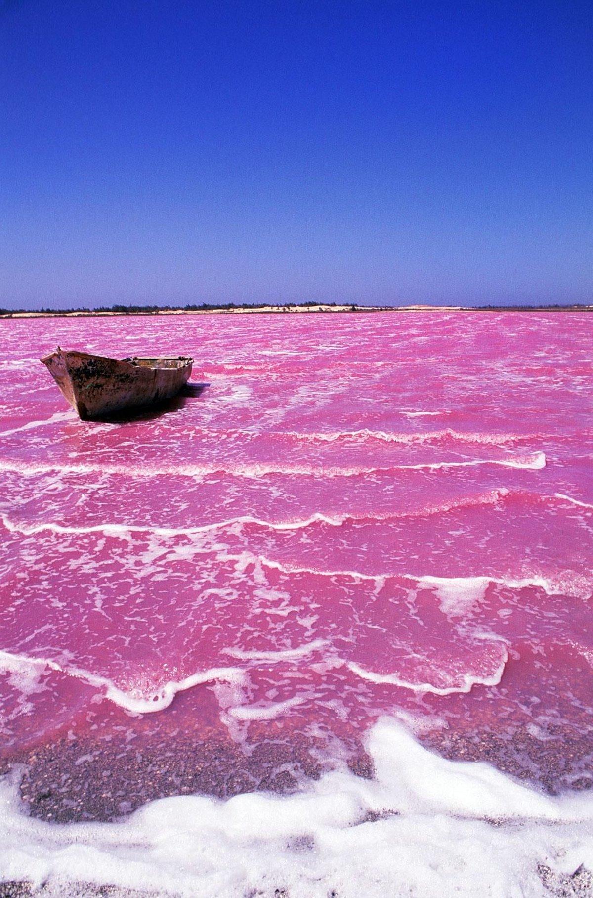 Ροζ Λίμνη Retba, Σενεγάλη