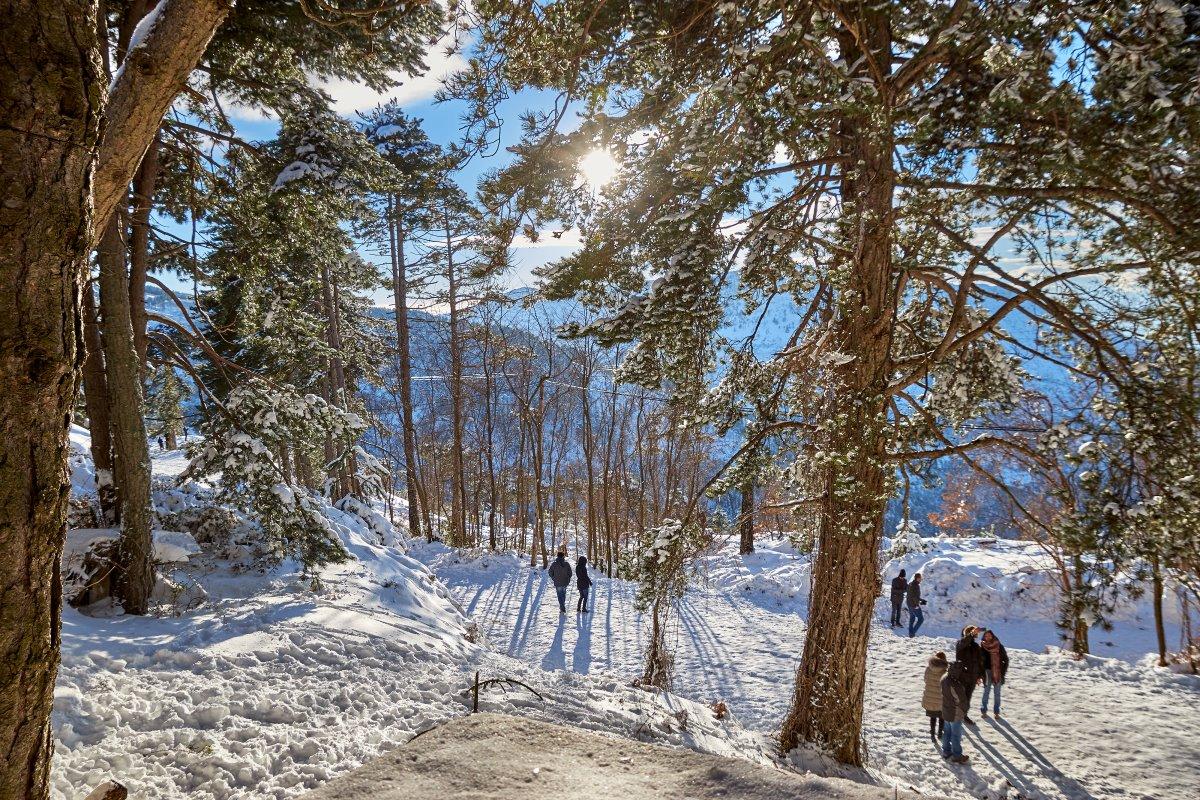 Ο Ταϋγετος χιονισμένος