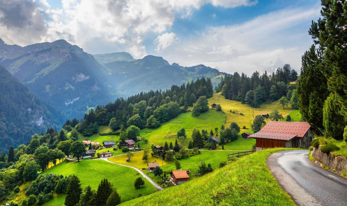 Wengen: Λέγεται ότι είναι το ομορφότερο χωριό της Ευρώπης! Δείτε το μέσα από εντυπωσιακές φωτογραφίες