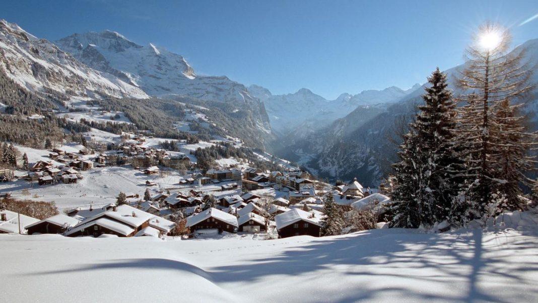 Wengen, Ελβετία Άλπεις