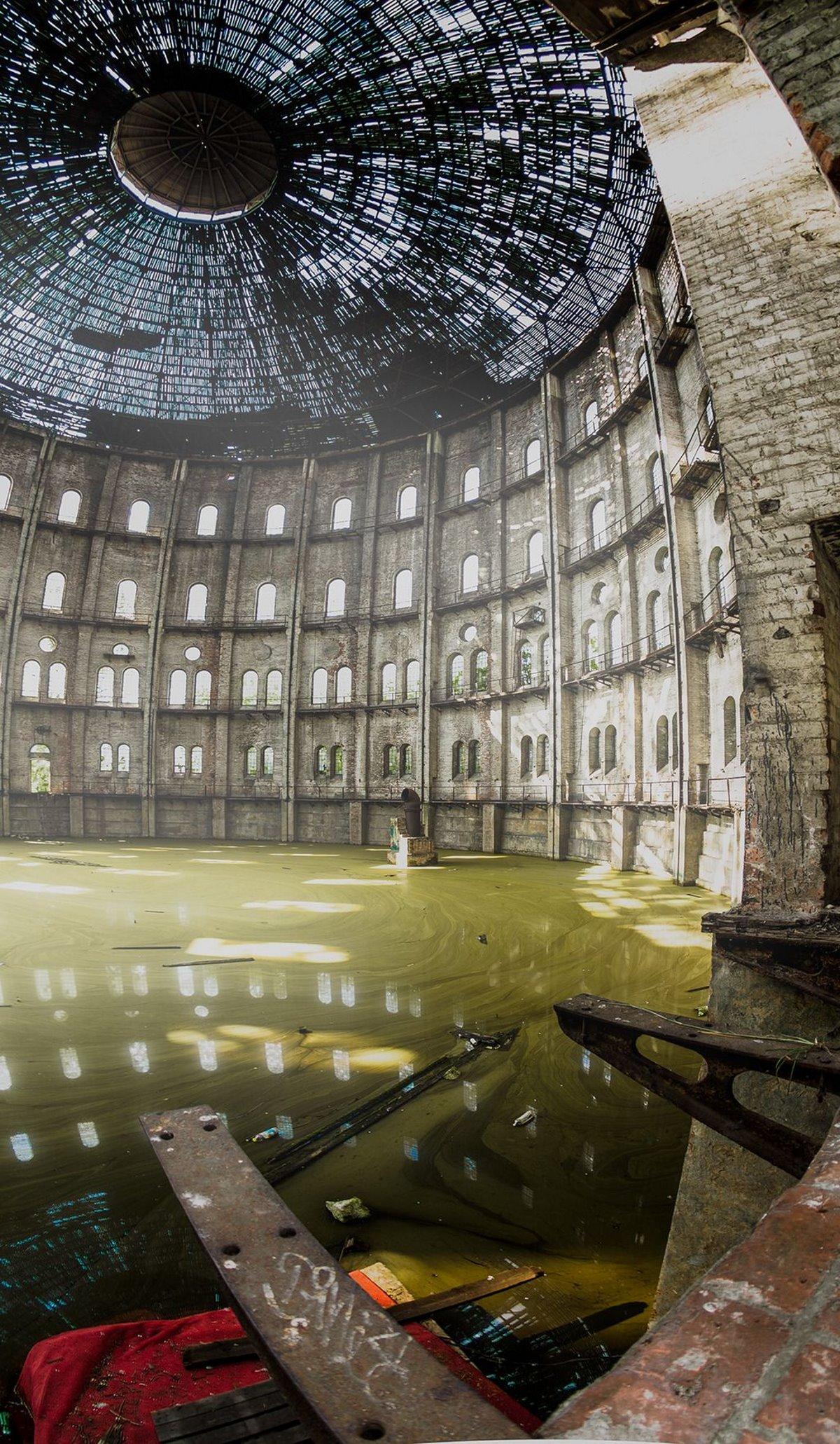 Εγκαταλελειμμένο εργοστάσιο αερίου Wola, Βαρσοβία