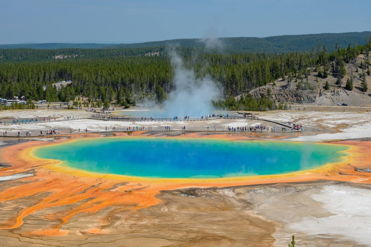 Yellowstone National Park, ΗΠΑ