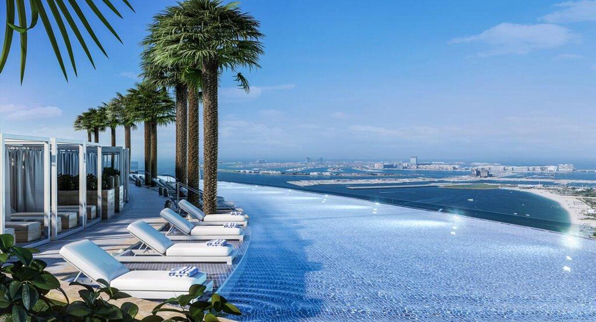 Address Hotel Ντουμπάι με υπε΄ροχη θέα από την πισίνα