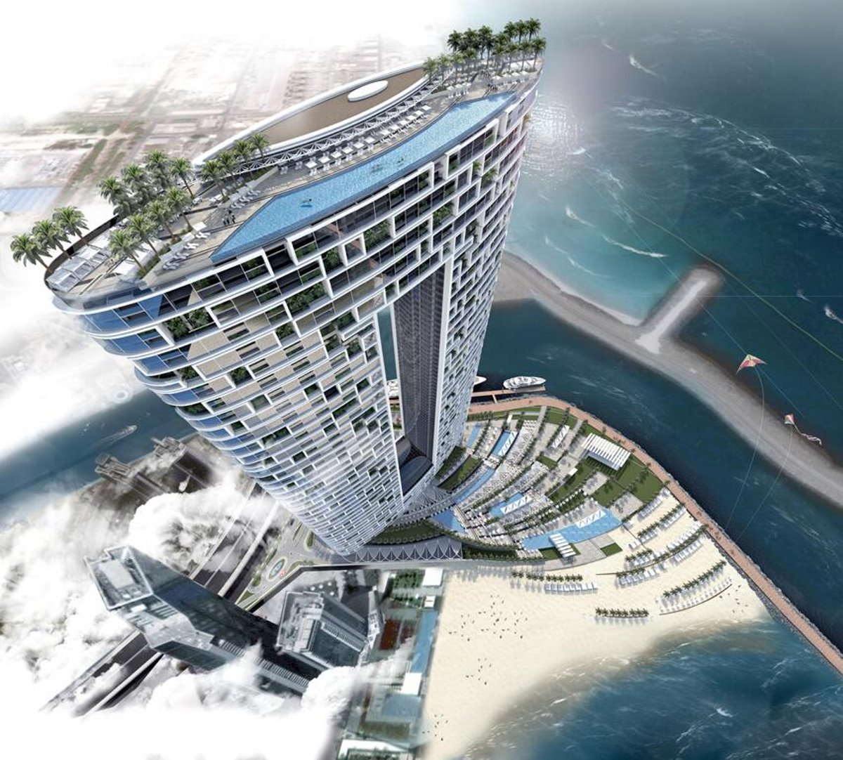 Address Hotel Ντουμπάι με ψηλότερη πισίνα υπερχείλισης