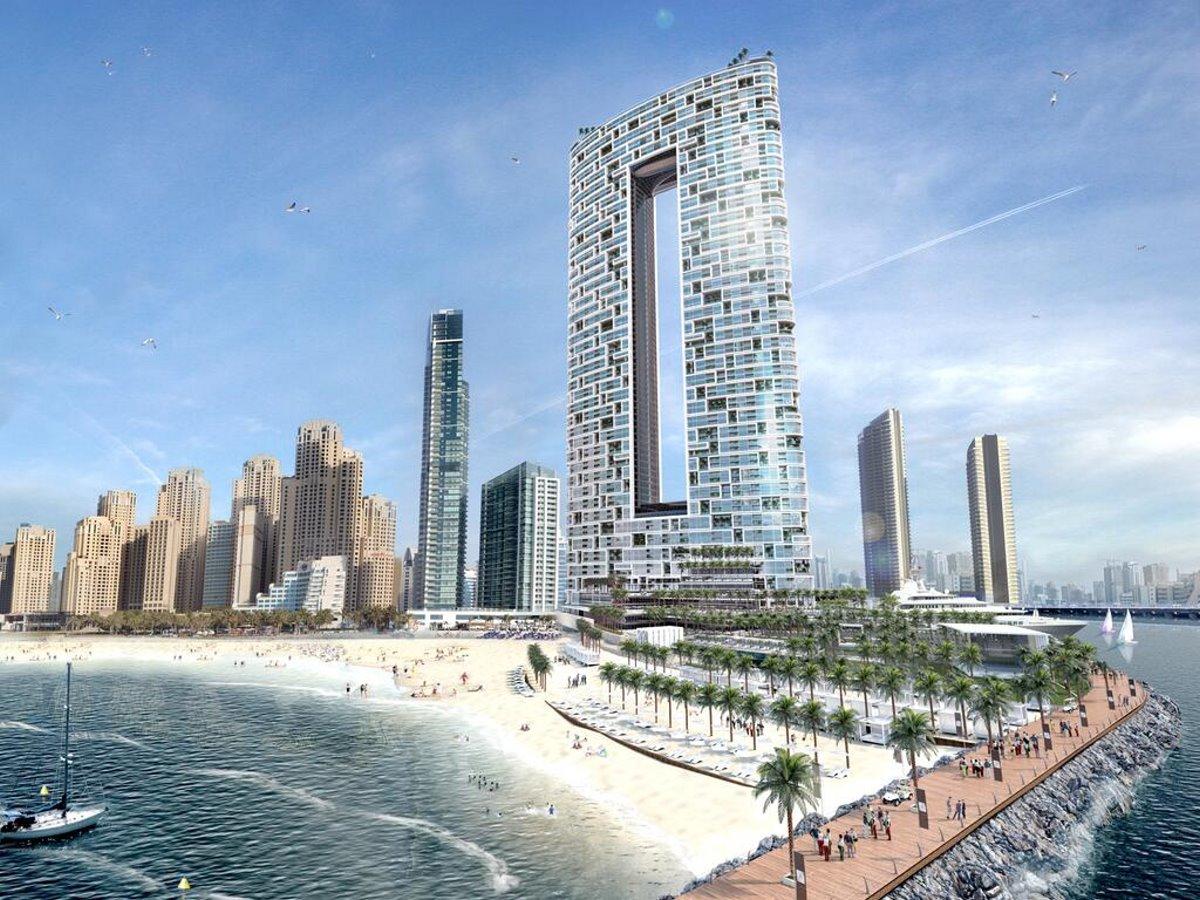 Address Hotel Ντουμπάι πανοραμική με παραλία