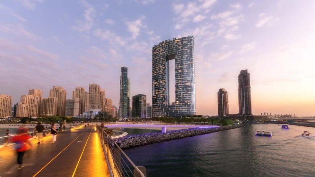 Address Hotel Ντουμπάι πανοραμική
