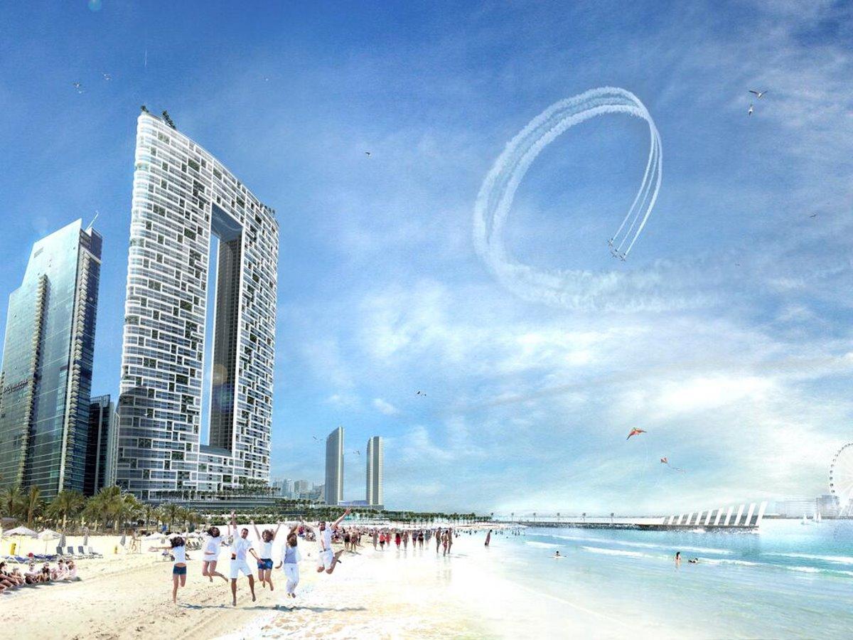 Address Hotel Ντουμπάι πανοραμική στην παραλία