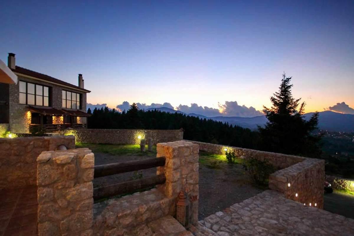 Αέσκω resort Βυτίνα, η υπέροχη θέα
