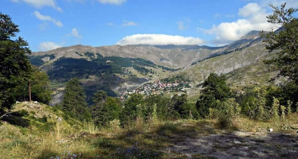 Αετομηλίτσα ορεινός οικισμός Ιωάννινα