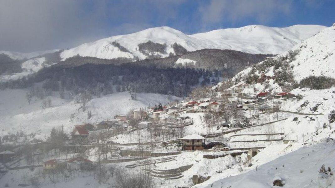 Αετομηλίτσα Ιωάννινα χιόνια