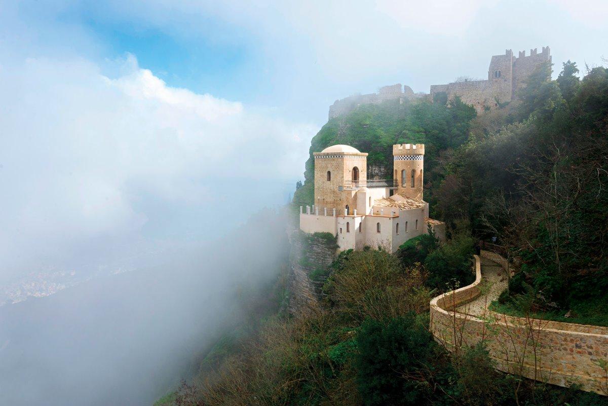 άγνωστα χωριά στην Ευρώπη Erice Ιταλία