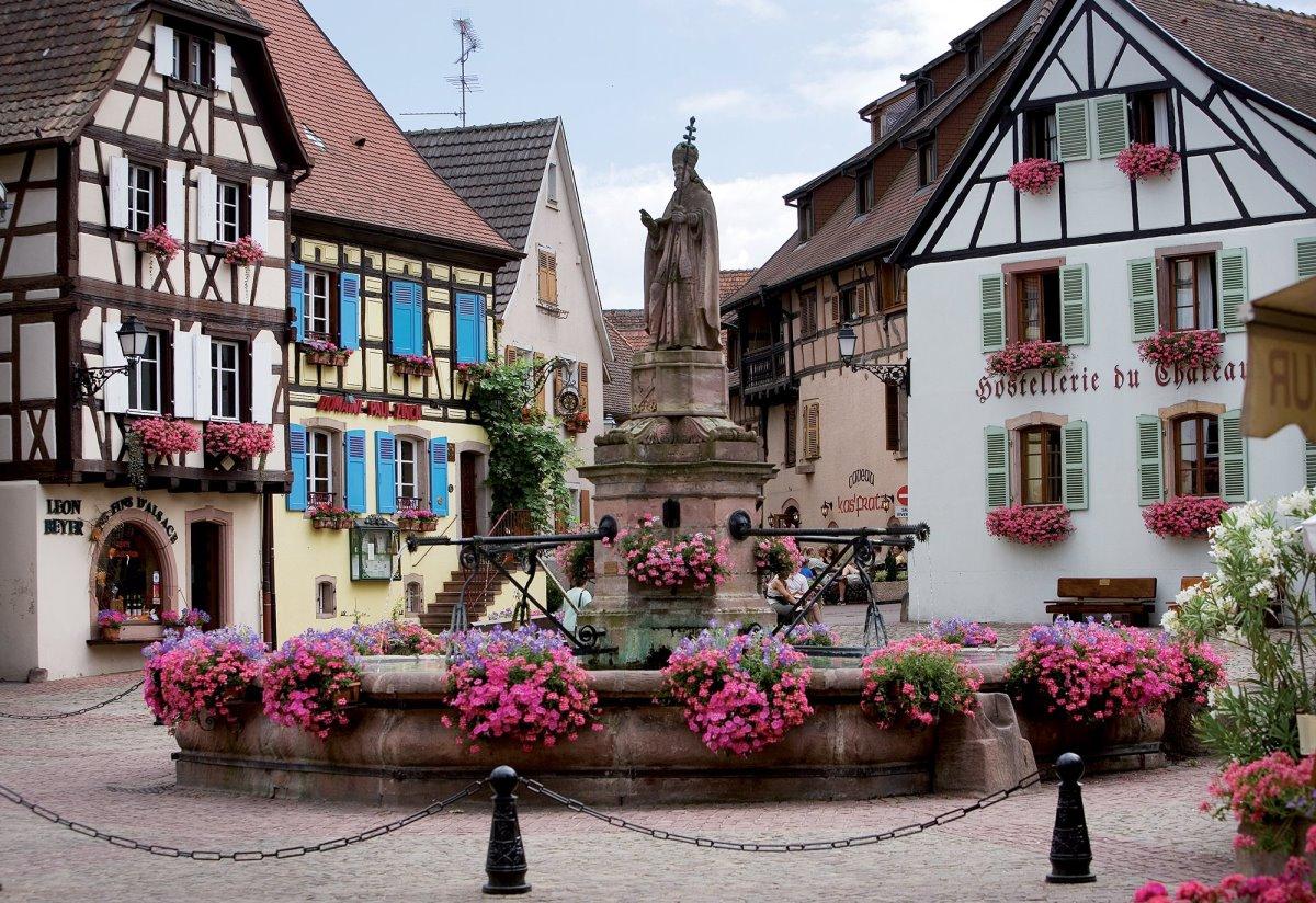 άγνωστα χωριά στην ευρώπη όπως το Eguisheim