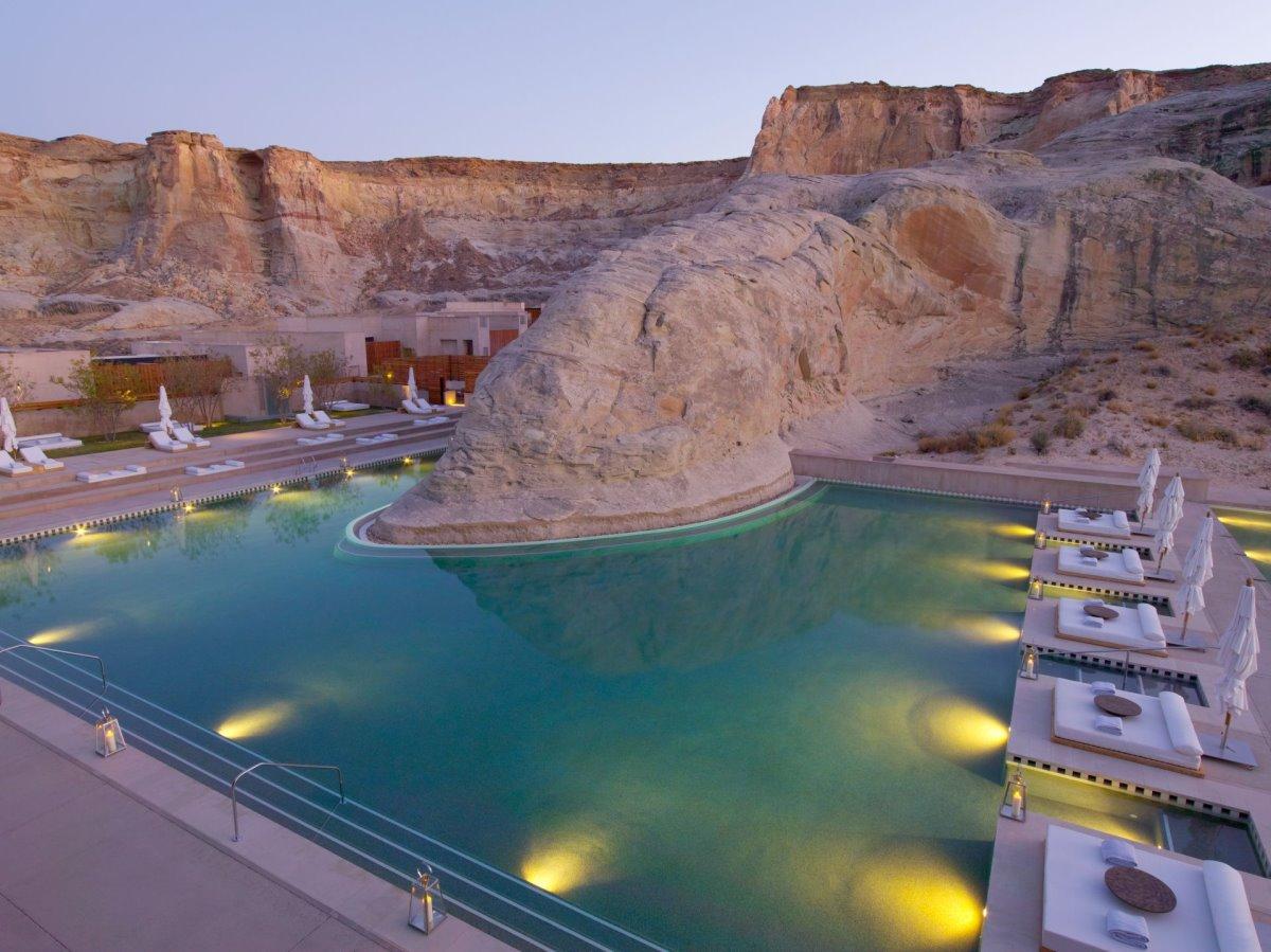 Amangiri Ξενοδοχείο με πολυτελείς σουίτες και εντυπωσιακή πισίνα