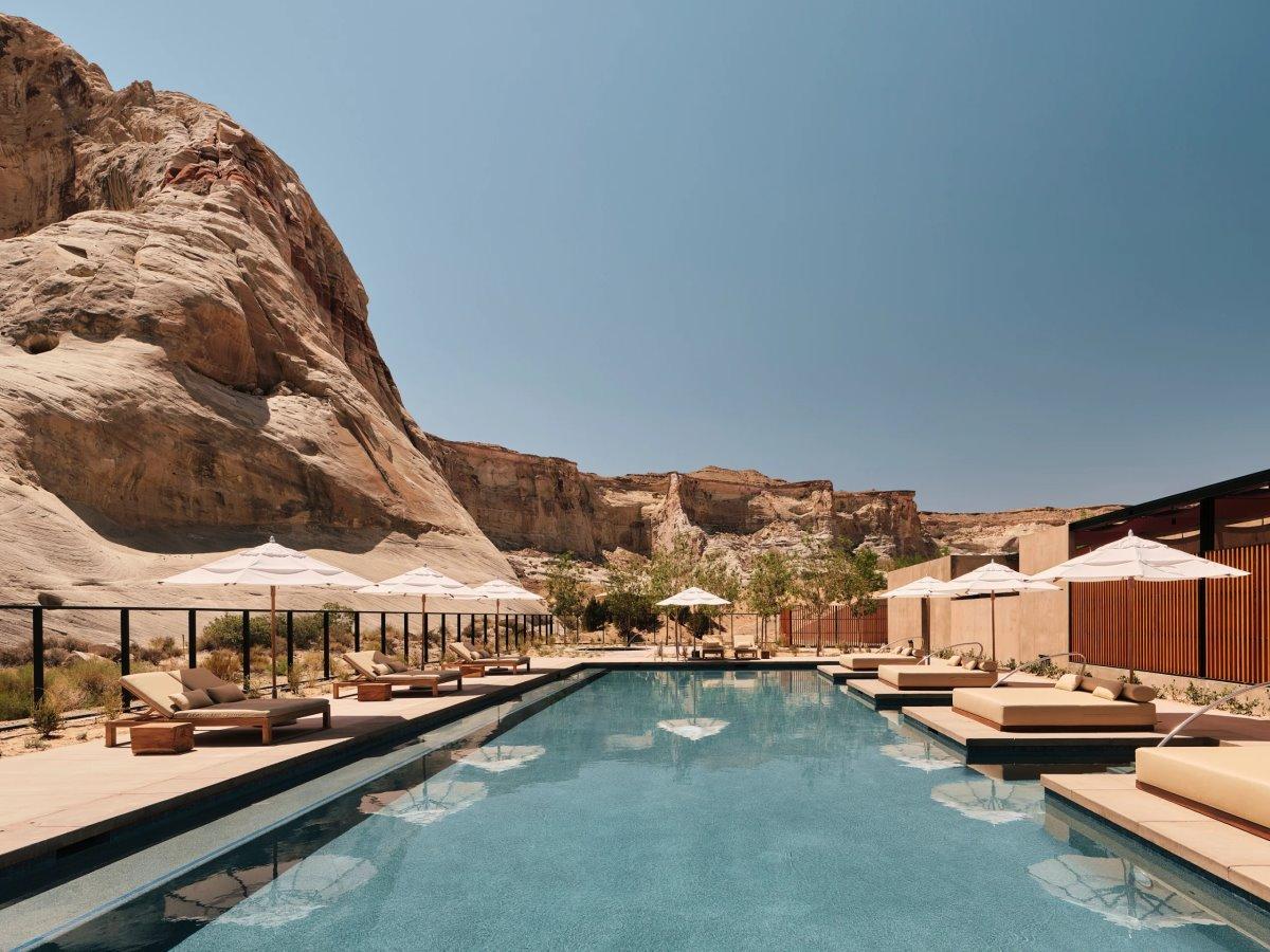Amangiri Ξενοδοχείο με εντυπωσιακή πισίνα
