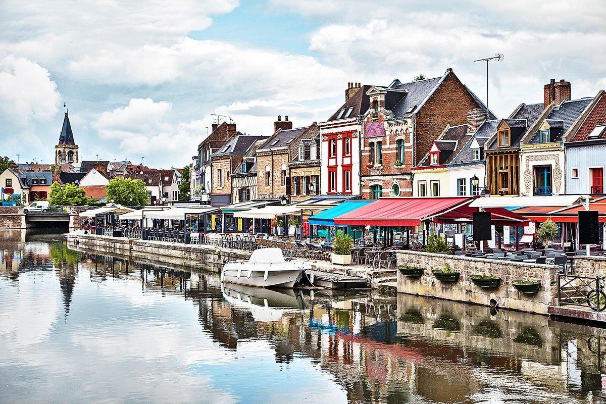 Amiens Γαλλία άγνωστη πόλη