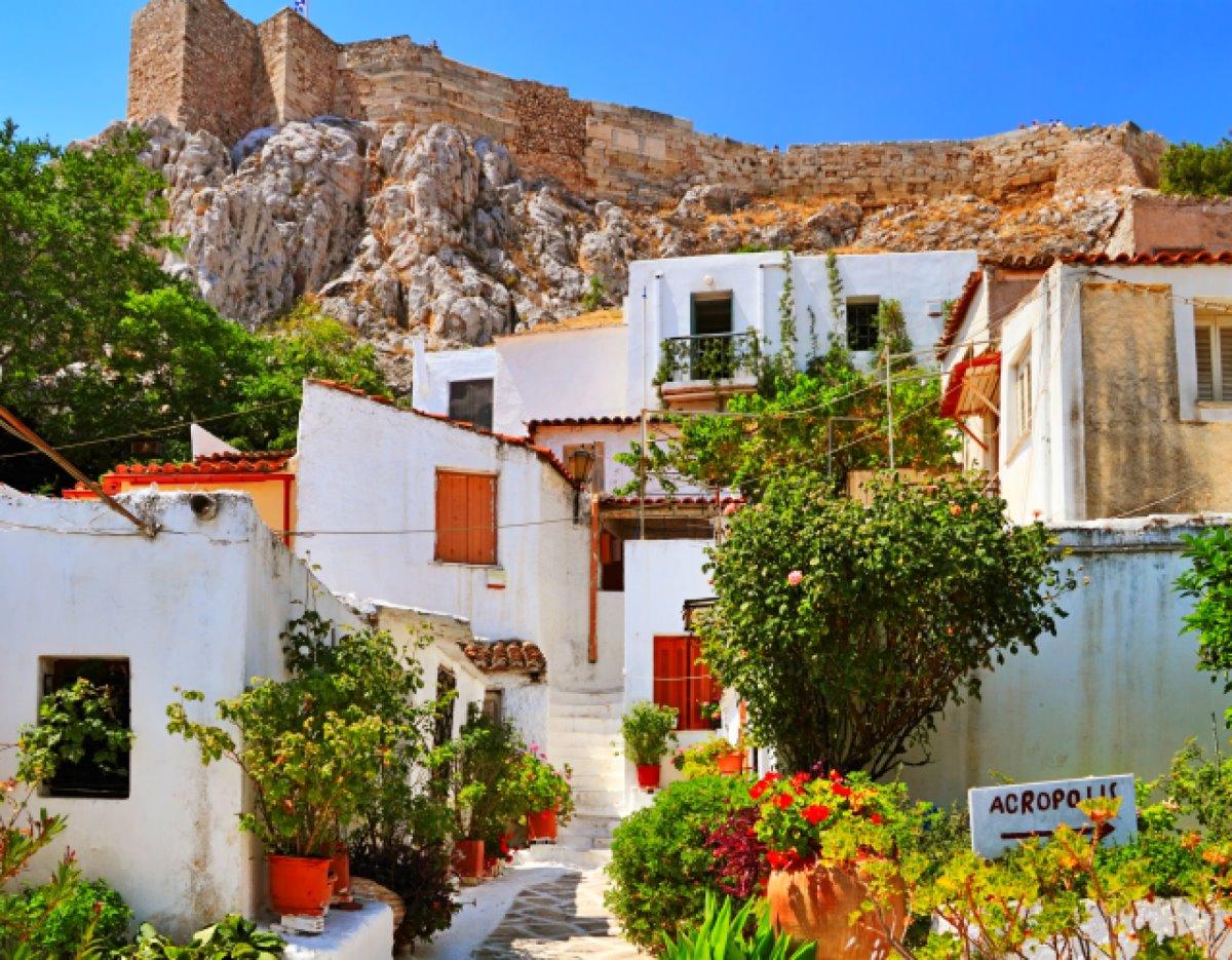 Αναφιώτικα Αθήνα βόλτα
