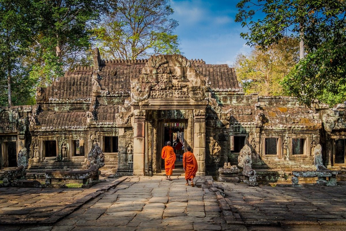 Angkor Wat, Καμπότζη