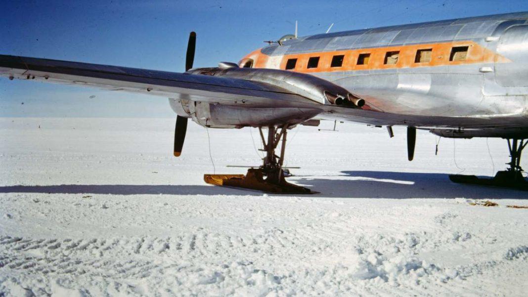 Ανταρκτική χαμηλότερη θερμοκρασία