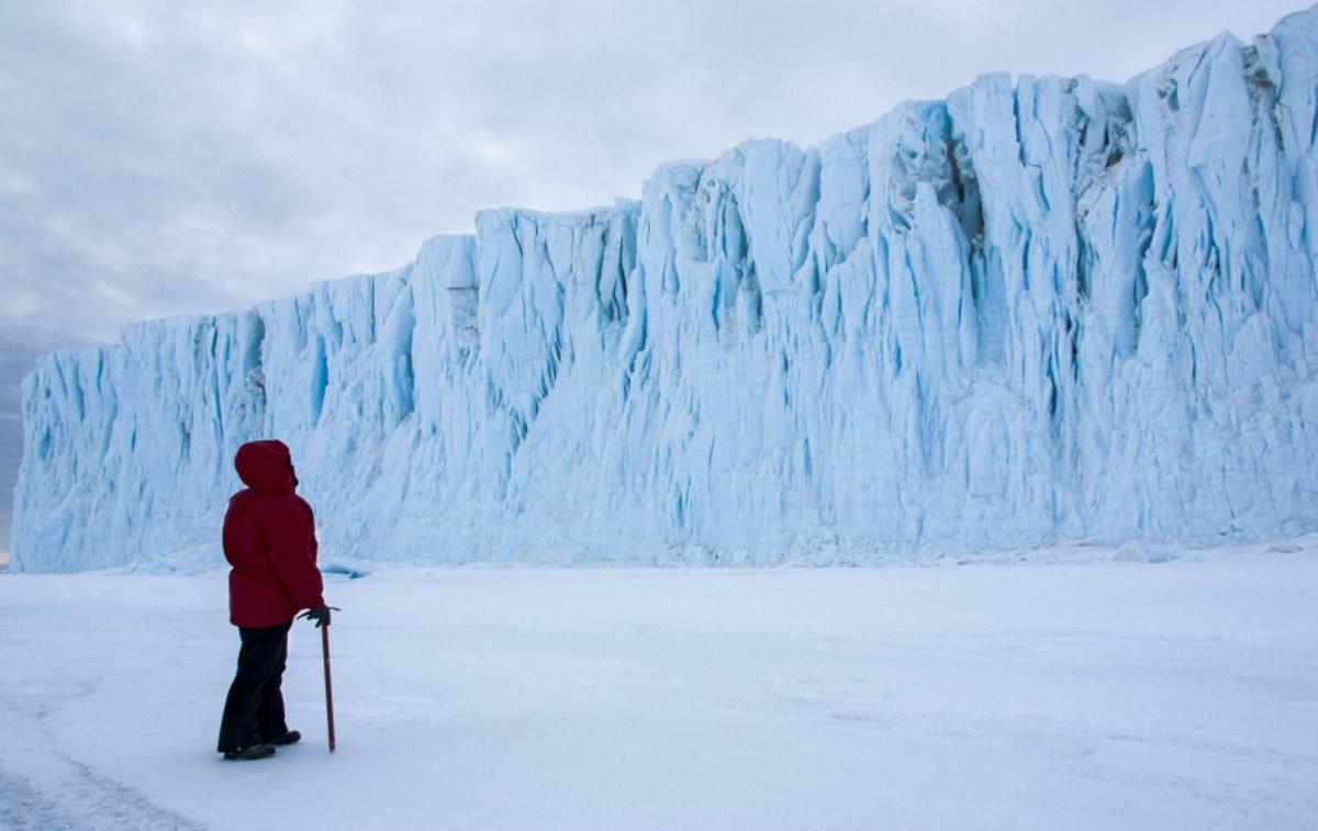 ανταρκτική χαμηλή θερμοκρασία πάγοι