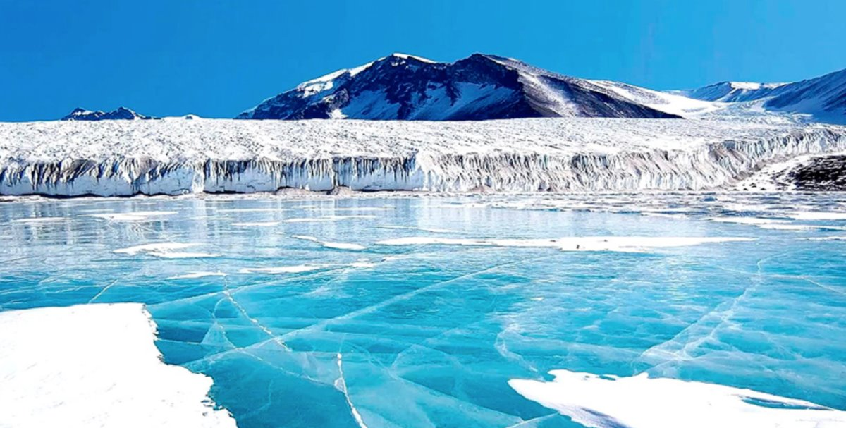 λίμνες της ανταρκτικής με πολύ χαμηλή θερμοκρασία