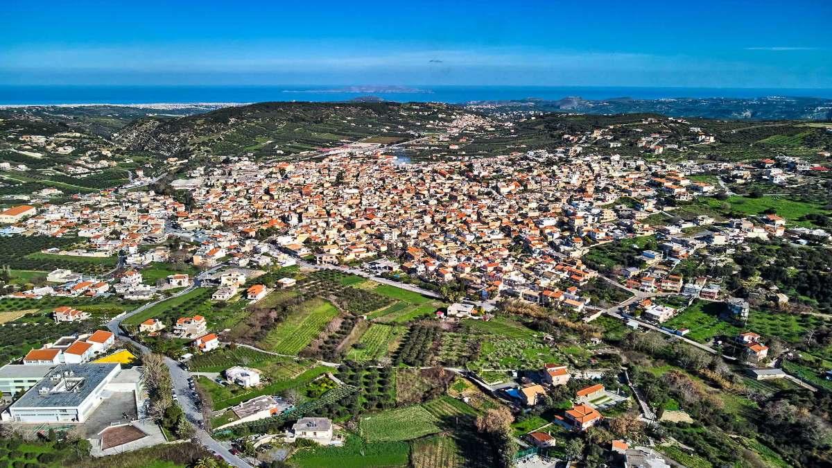 Αρχάνες Κρήτη πανοραμική
