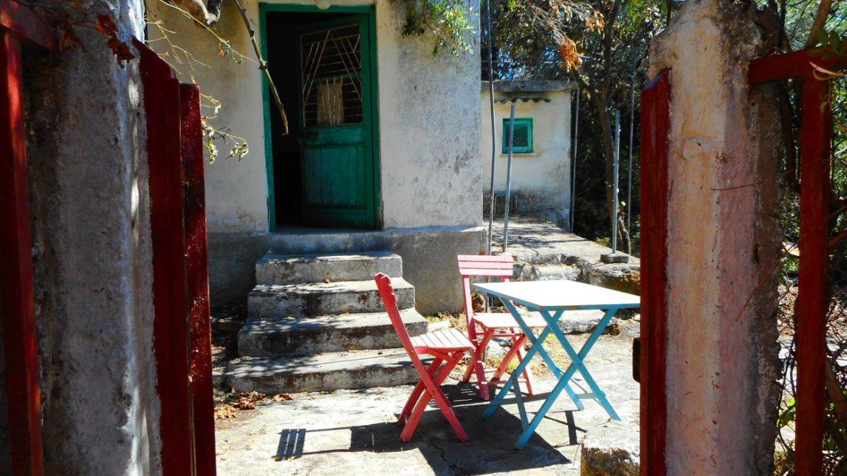 Κέρκυρα όμορφα ορεινά χωριά Αργυράδες σπίτι