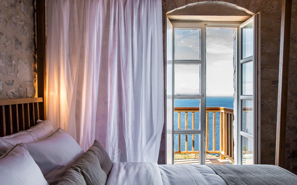 Bassa Maina ξενώνας Αρεόπολη με ωραία θέα από το δωμάτιο