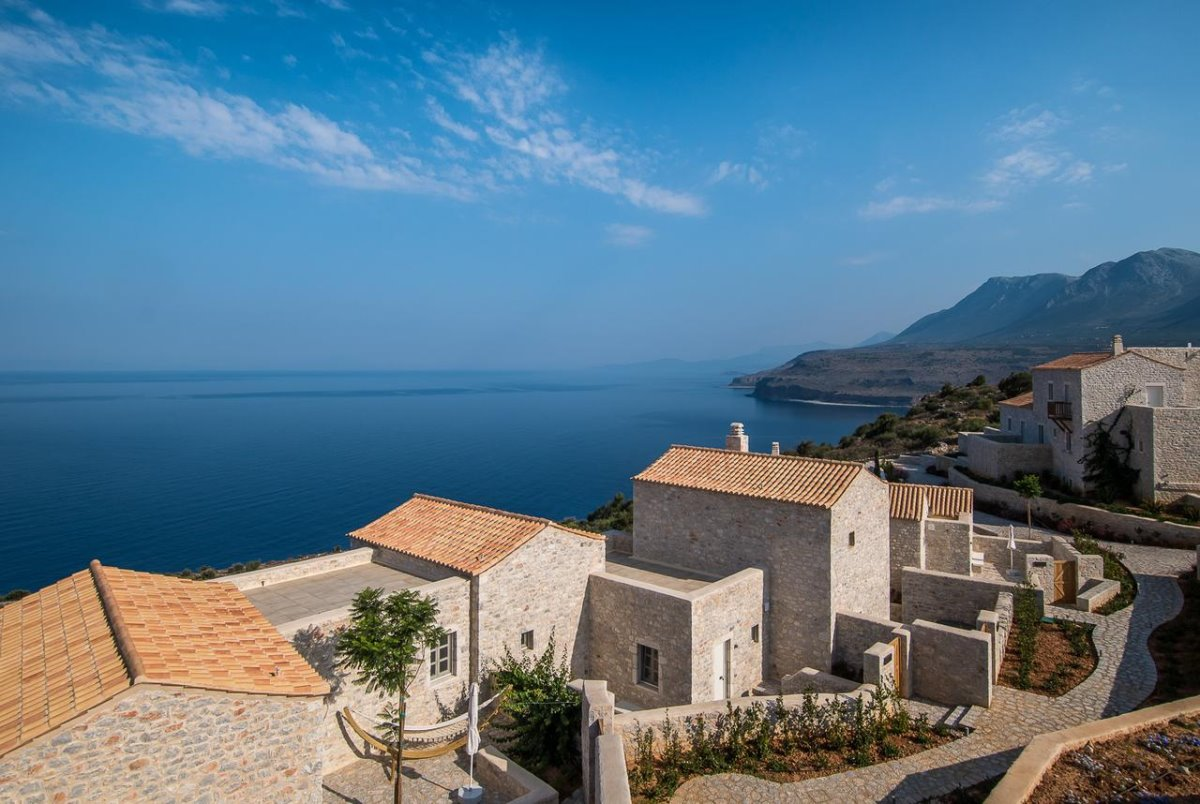 Bassa Maina ξενώνας Αρεόπολη με υπέροχη θέα στη θάλασσα