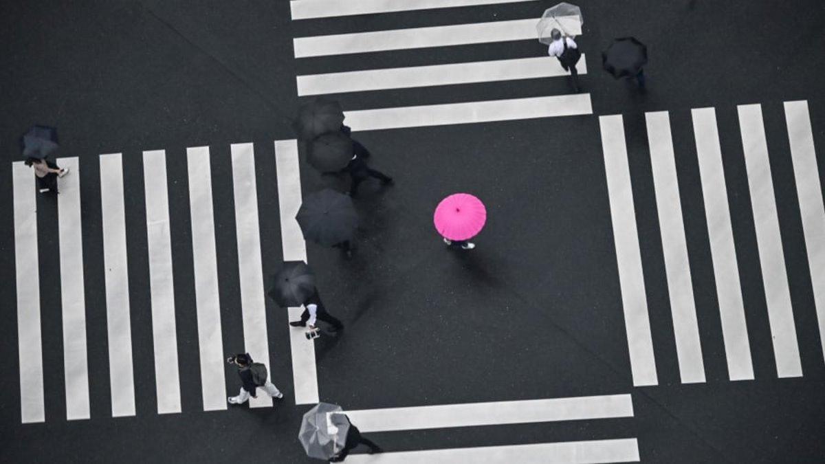 Οι καλύτερες ταξιδιωτικές φωτογραφίες για το 2020, Τόκιο, πεζοί στο δρόμο