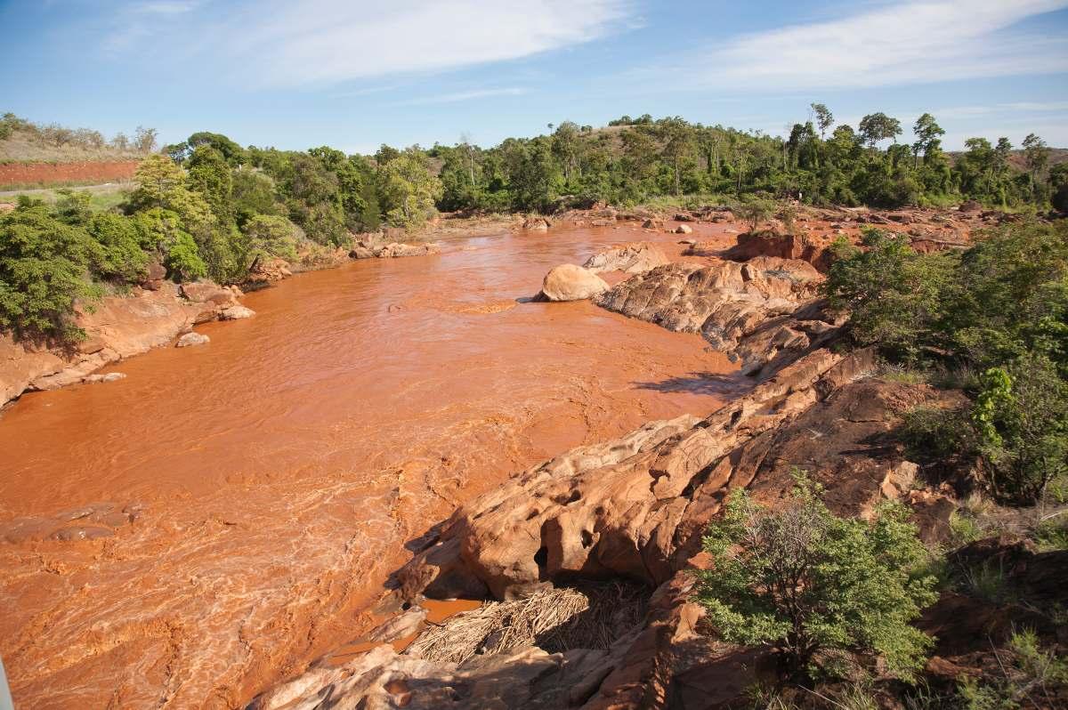 Το κόκκινο ποτάμι της Μαδαγασκάρης