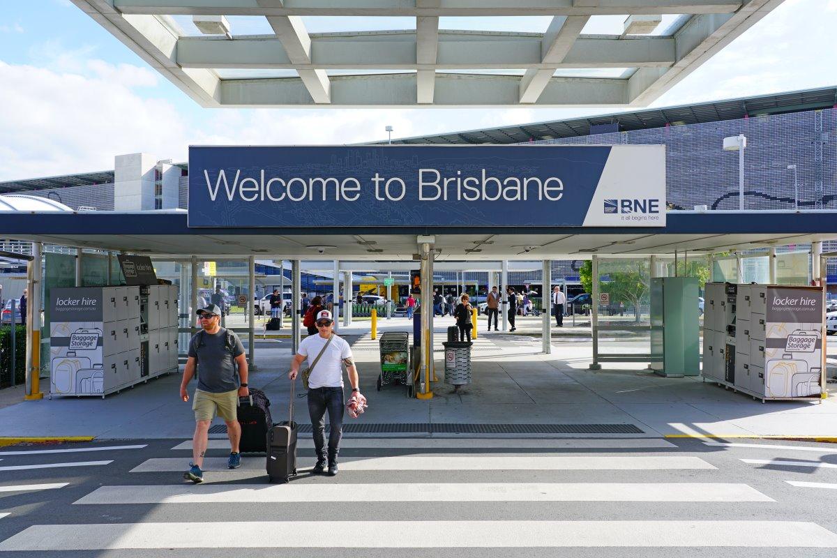 το αεροδρόμιο του Brisbane