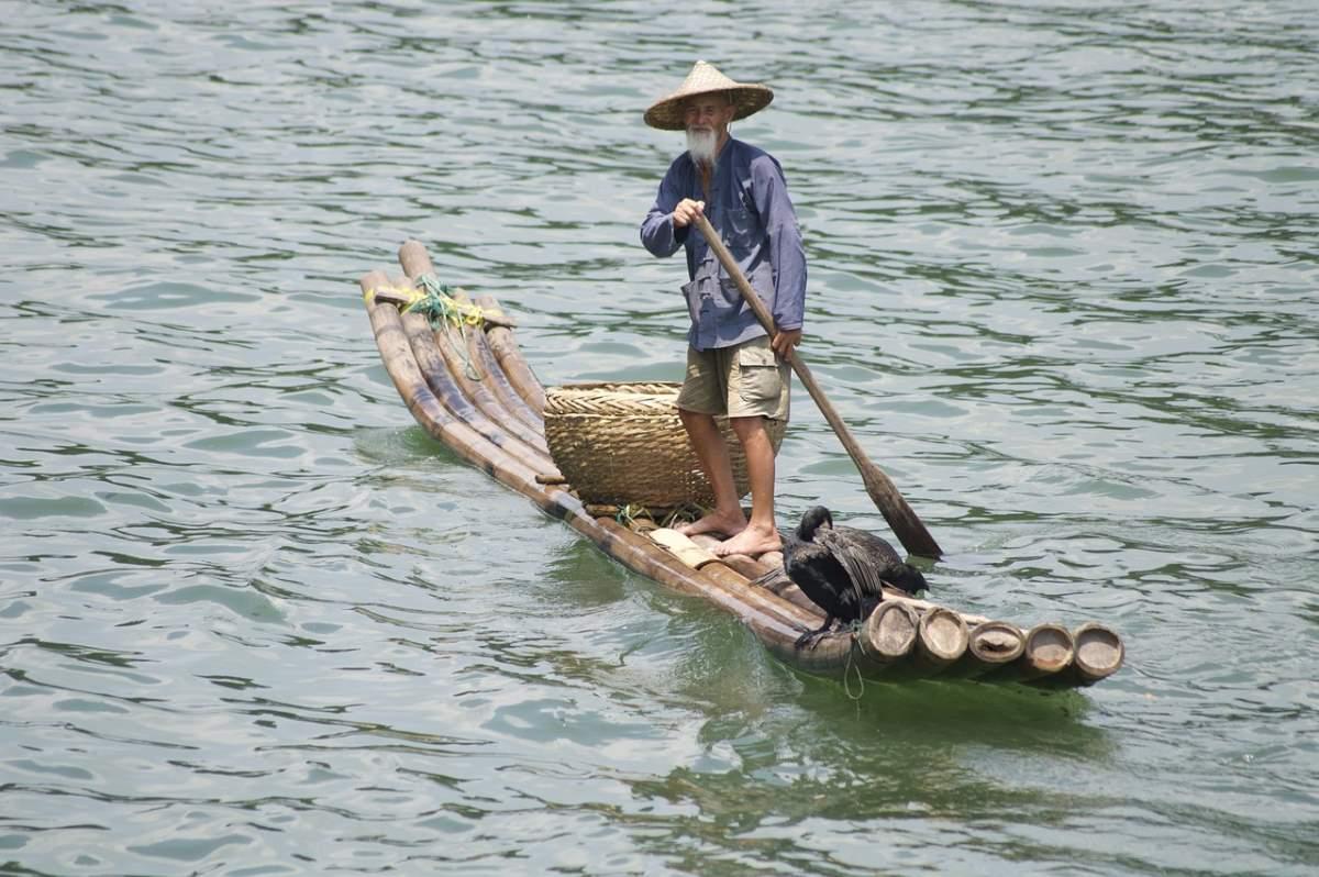 Γκουιλίν, Κίνα ψαράς
