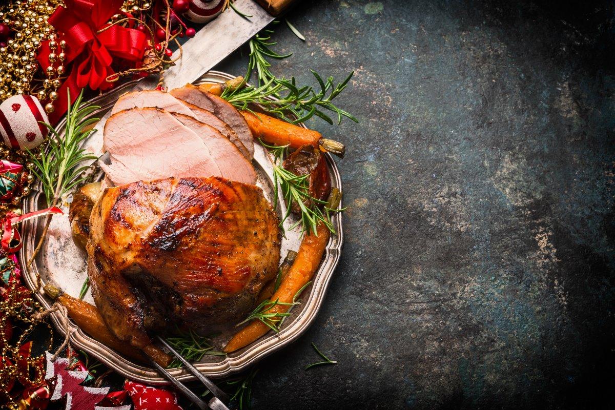 Χοιρομέρι χριστουγεννιάτικο πιάτο