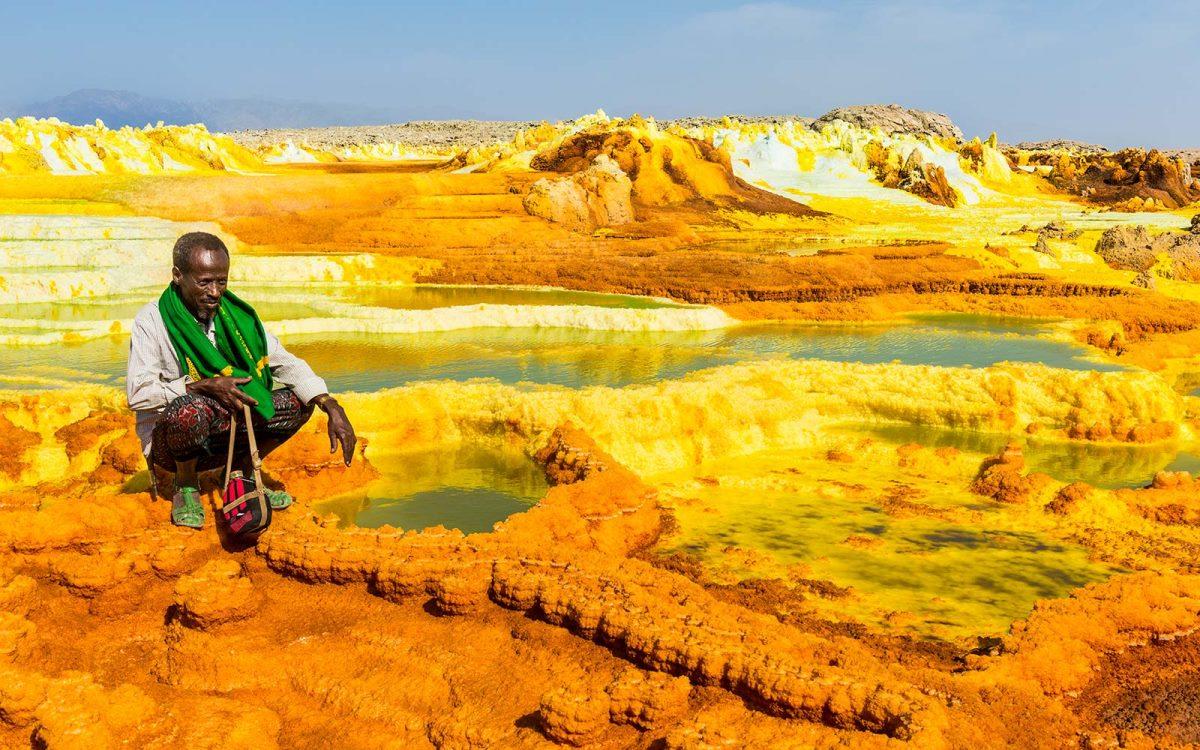 Dallol, κρατήρας, Αιθιοπία