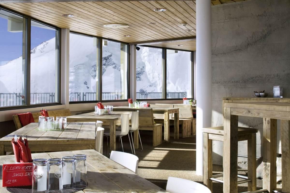 Drehrestaurant Allalin – Saas-Fee, Eλβετία