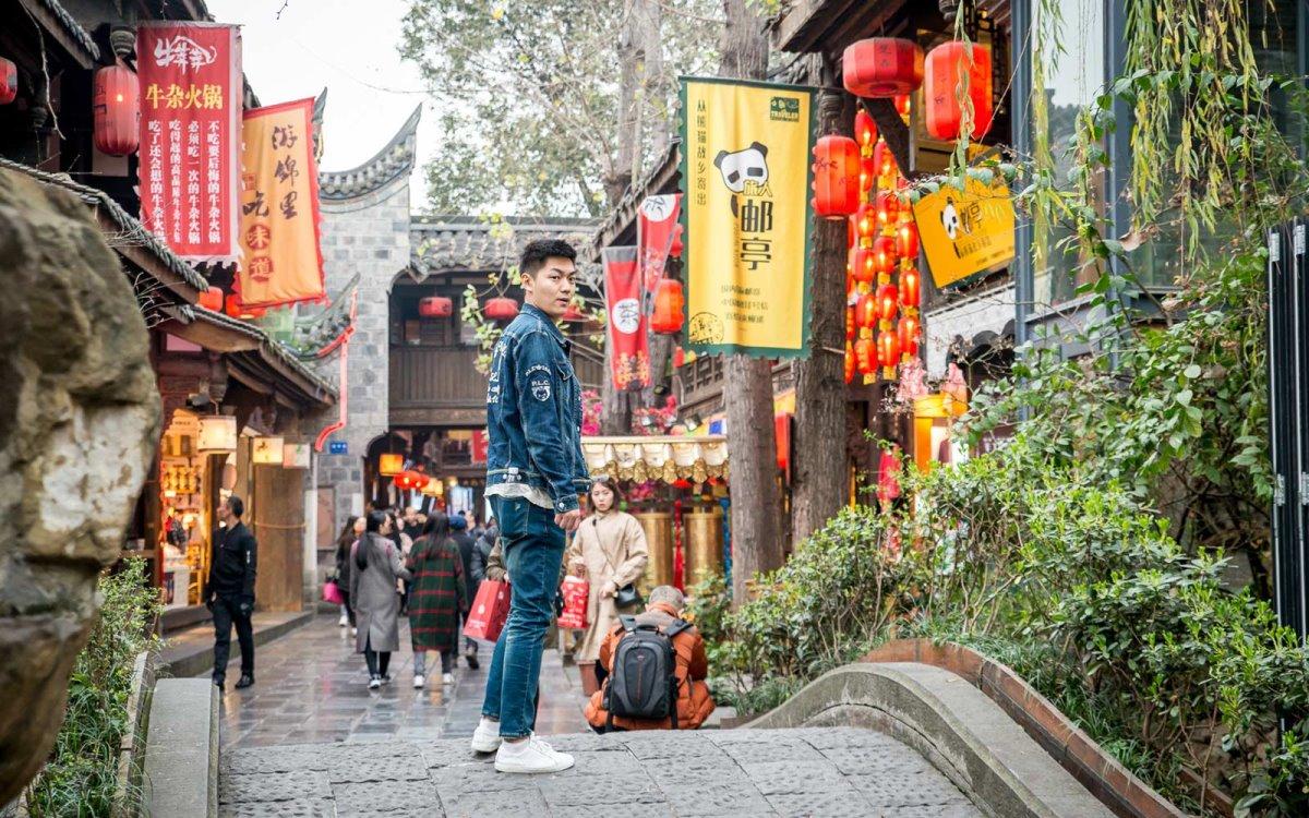 Διάσημοι δρόμοι στον κόσμο και ο ιστορικός στην Κίνα
