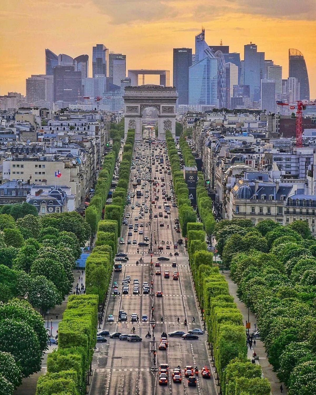 Διάσημοι δρόμοι στον κόσμο όπως τα Ηλίσια Πεδία στο παρίσι