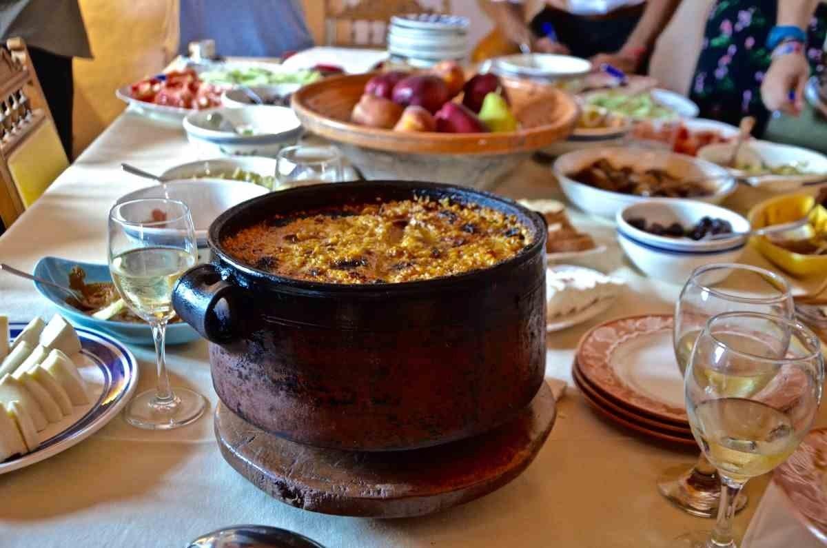ελλάδα διάκριση στο φαγητό παραδοσιακό πιάτο ρόδος