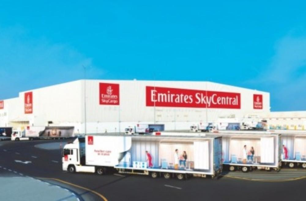 Μεταφορά εμβολίου covid-19, Emirates SkyCentral