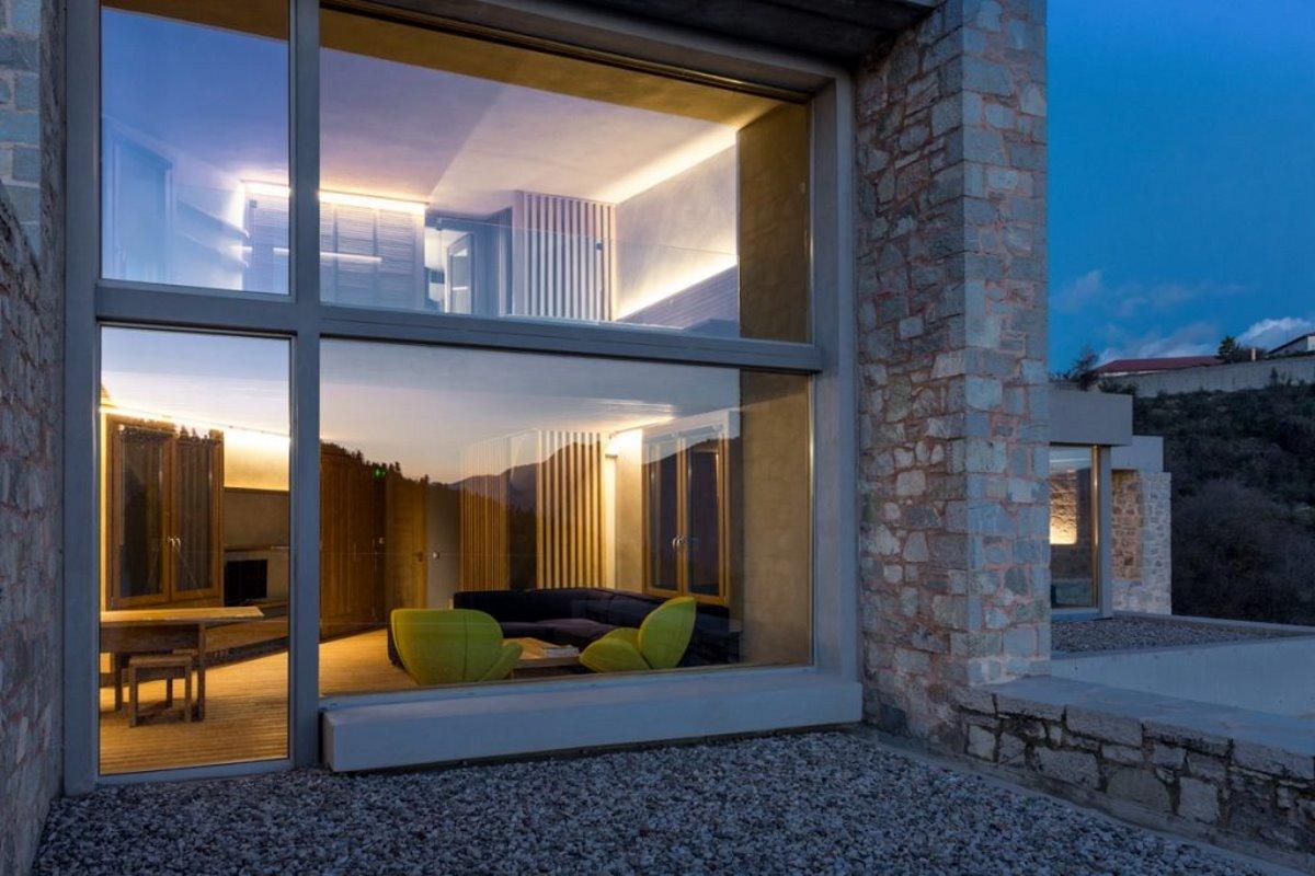 τα δωμάτια του Escapade ξενοδοχείο στο καρπενήσι