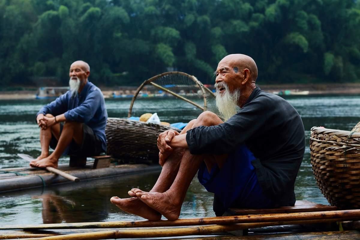 Ψαράδες στο Γκουιλίν, Κίνα