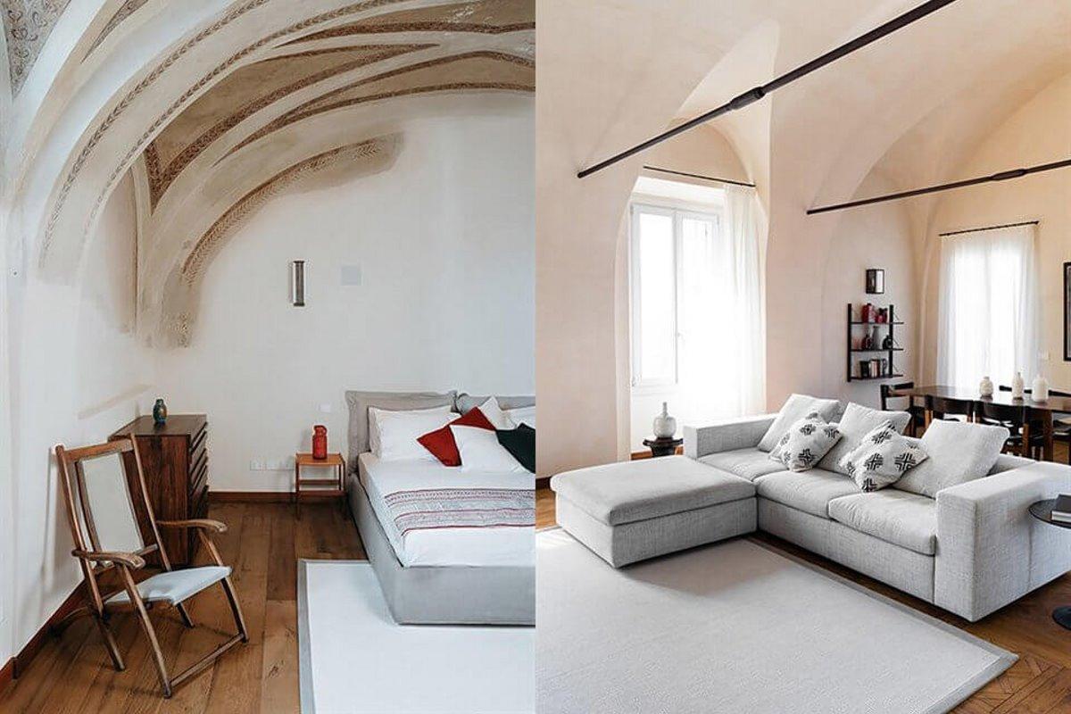 Forte San Giortgio στην Τοσκάνη luxury ξενοδοχείο με minimal δωμάτια