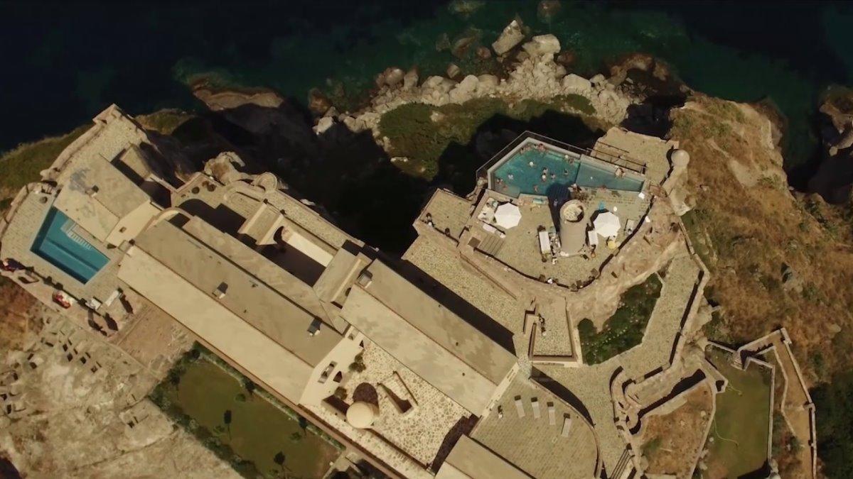 Forte San Giortgio στην Τοσκάνη πανοραμική λήψη