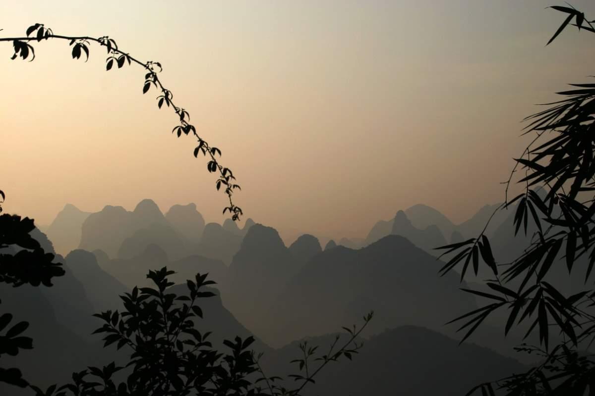 Πανέμορφα φυσικά τοπία στο Γκουιλίν, Κίνα