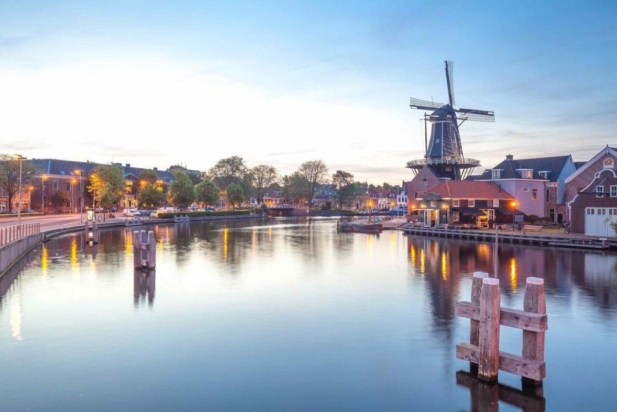 Haarlem πόλη outsider ευρώπη στην Ολλανδία