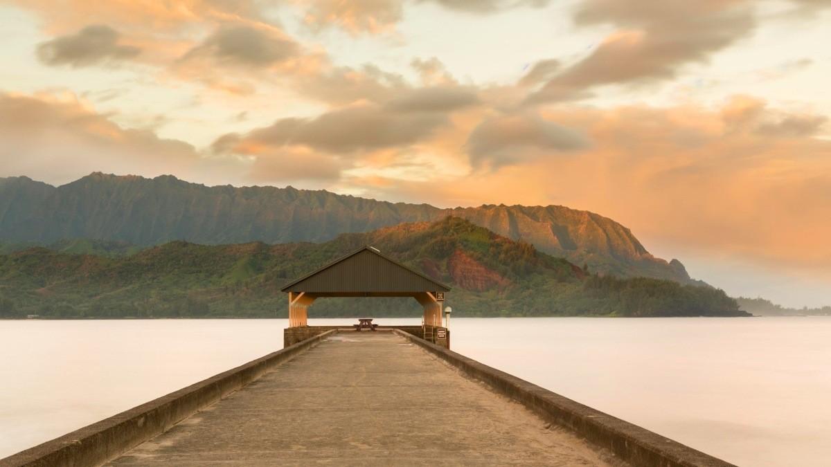 Παραλία Hanalei, Kauai, Χαβάη