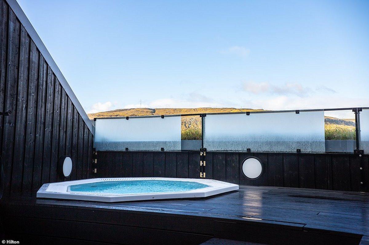 Hilton πράσινο ξενοδοχείο Νησιά Φερόε υδρομασάζ