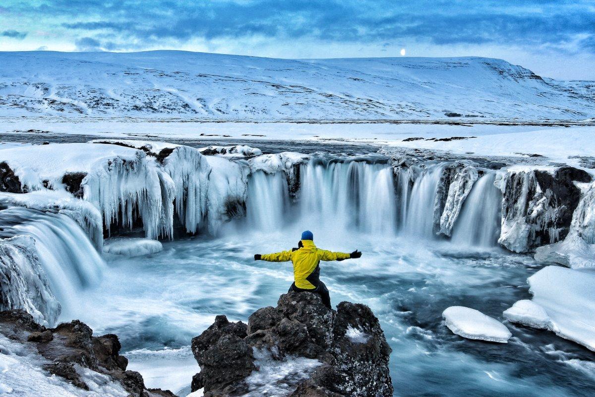 καταρράκτες Godafoss, Ισλανδία