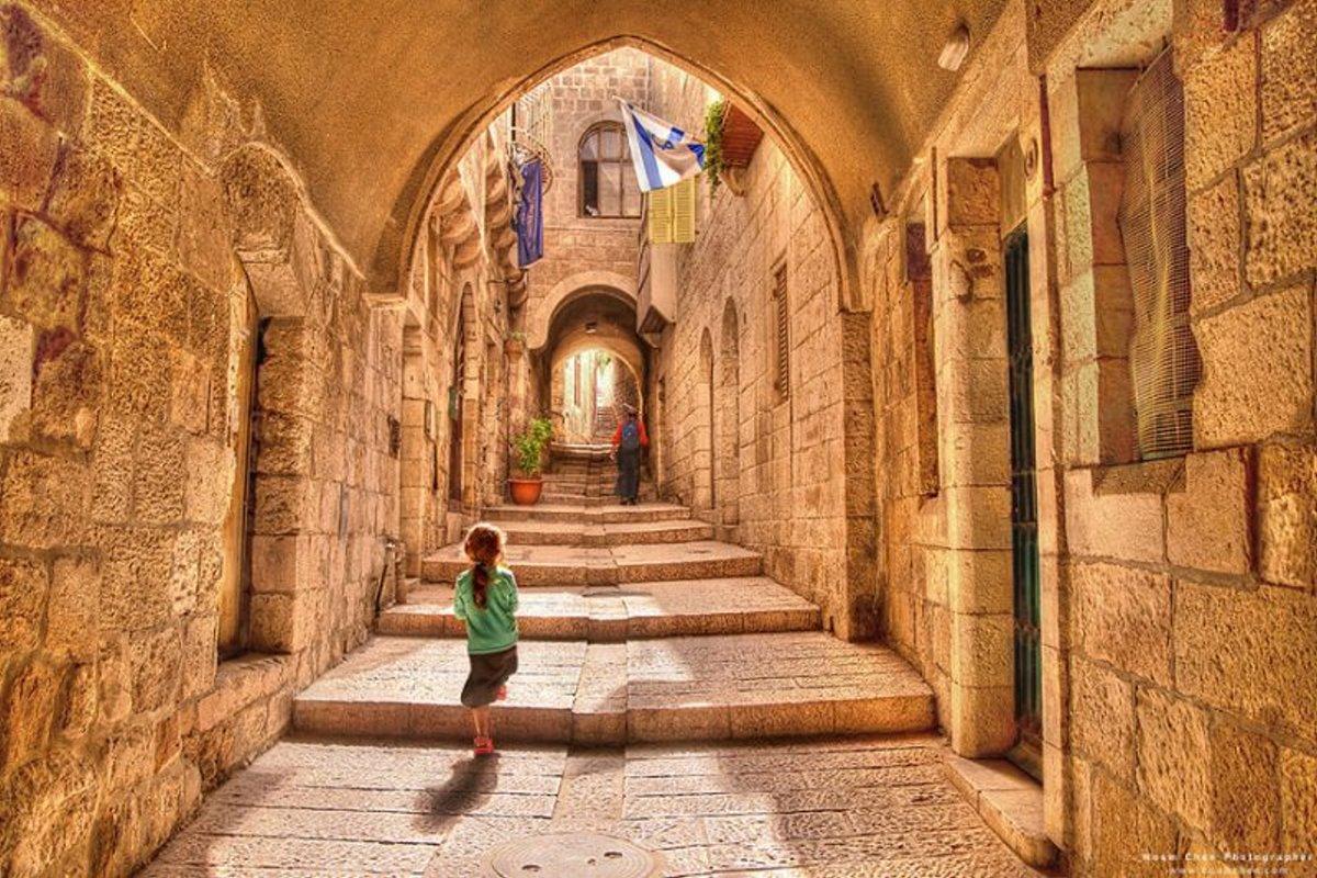 Ιερουσαλήμ πόλη με γοητεία υπέροχες φωτογραφίες από τα πέτρινα στενά
